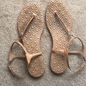 Tory Burch tan sandals